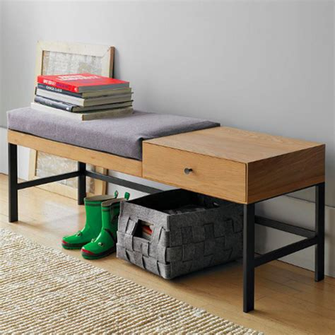 west elm storage bench offset bench west elm grassrootsmodern com