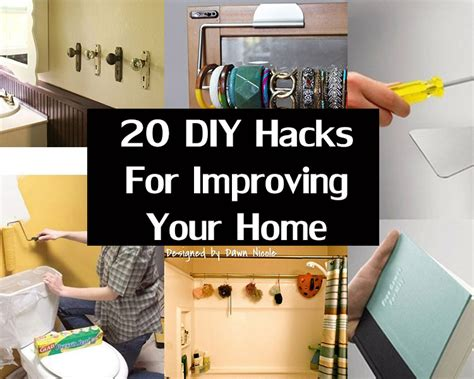 home hacks diy are you redecorating we have some diy hacks for
