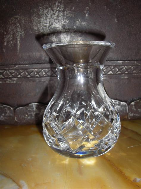 waterford small vase waterford cut glass small vase h 4 quot for sale antiques classifieds