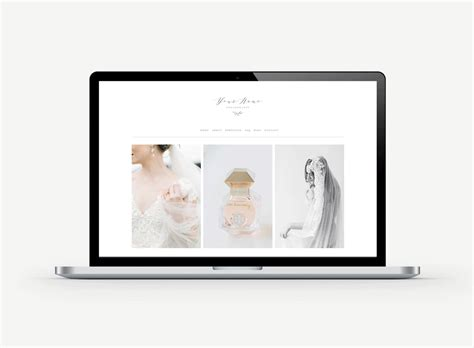 Photography Branding Wedding Photographer Magazine Templates Squarespace Design Kits View Squarespace Templates