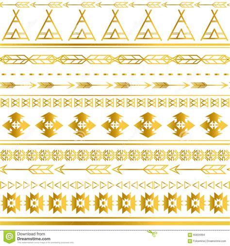 wallpaper tribal gold aztec tribal seamless gold pattern background tribal