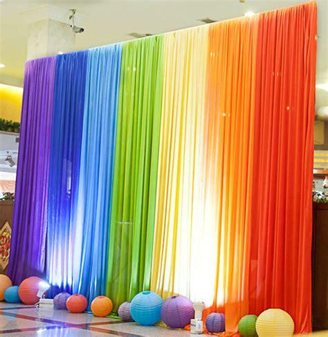 rainbow backdrop magical wonderlande