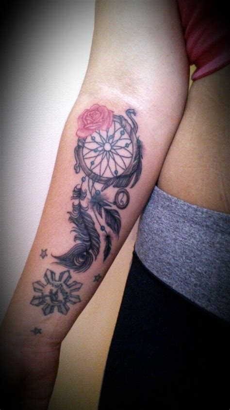 dream catcher tattoo on forearm dreamcatcher arm dreamcatcher tattoos on tatts i
