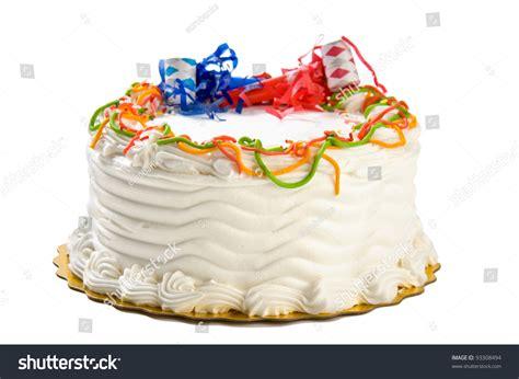 birthday cake isolated  white stock photo  shutterstock