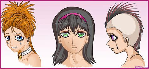 draw anime faces step  step anime heads anime