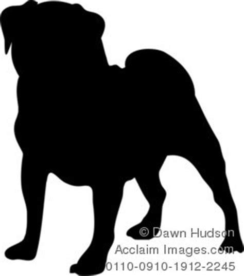 pug silhouette clip pug silhouette clipart clipart suggest