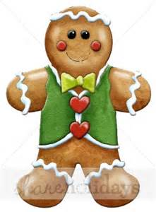 Cocktail Party Invites - gingerbread boy clipart gingerbread clipart