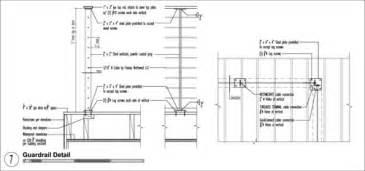 Galvanized Handrail The Modern Guardrail Build Blog