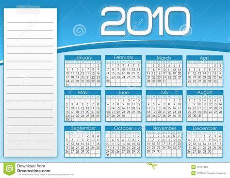 Blue Note Calendar Blue Calendar 1010 Stock Illustration Image Of Note