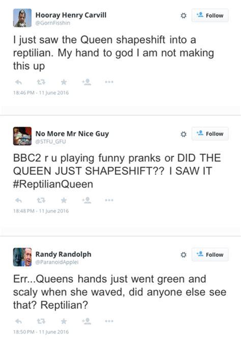 queen elizabeth shapeshifting on live tv goes viral queen elizabeth shapeshifting on live tv goes viral