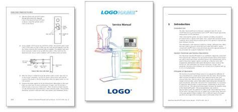 user manual design template sle manual design production