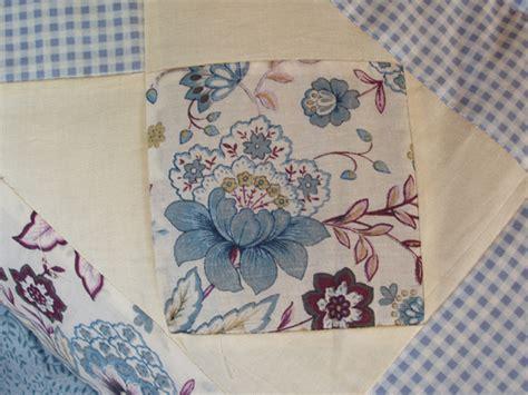 Patchwork Shop - patchworkquilt hellblau