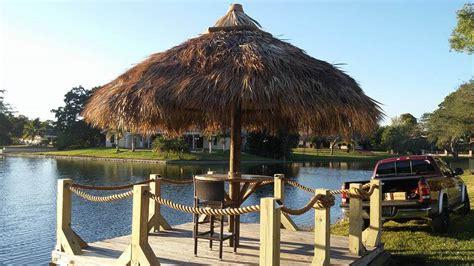 Tiki Hut Repair South Florida Winter Fl Tiki Huts Winter Fl Tiki Bars