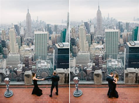 best f tatyana fred are engaged top of the rock nyc