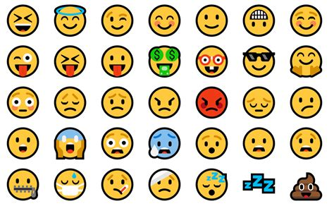 emoji for windows how the android o emoji would look if it were flat android