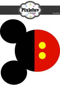 printable mickey template 538 best images about mickey mouse birthday printables on