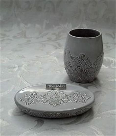 tahari home collection bathroom accessories soap dish