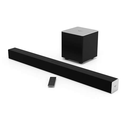 visio sound vizio sb3821 c6 38 quot 2 1 channel soundbar speaker sb3821 c6