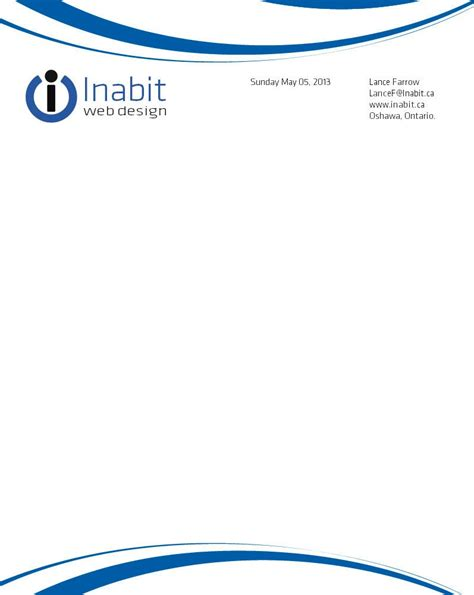 1st business letter format business letterhead examples business