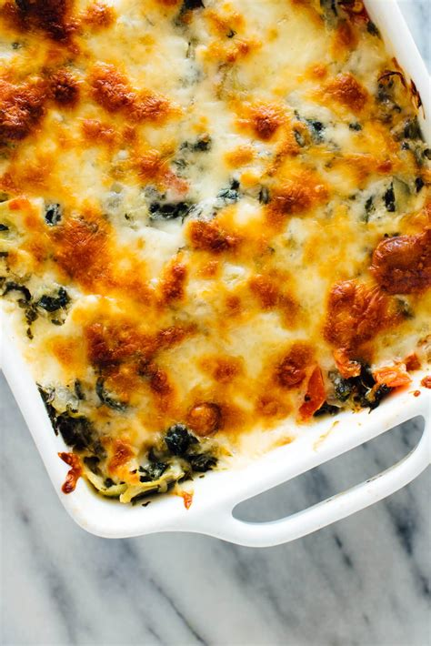 Cheesy Spinach Artichoke Dip Cooking Light
