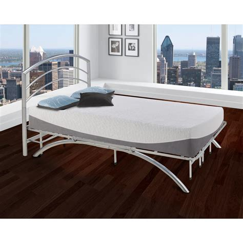 California King Platform Bed Frame Rest Rite Dome Arch Silver California King Metal Platform Bed Frame And Headboard Hd2108ck The