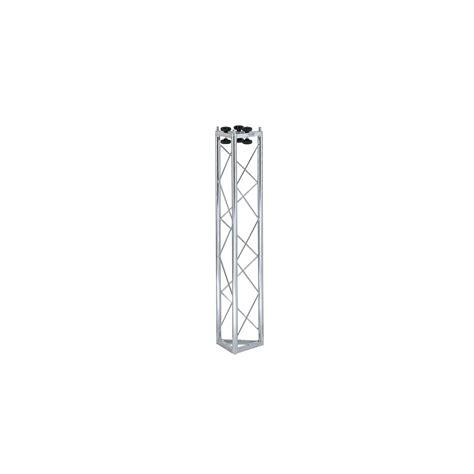 tralicci americane traliccio triangolare in acciaio zincato bianco l 1000 mm