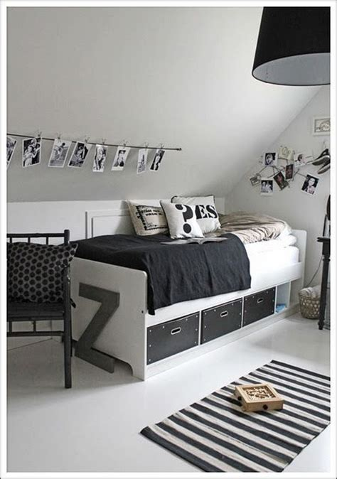 Boy Bedroom Goals Black And White Room Pinned For The Bugaboo All