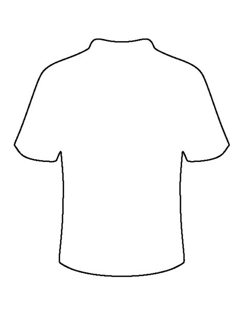 soccer shirt template football jersey pattern use the printable outline for