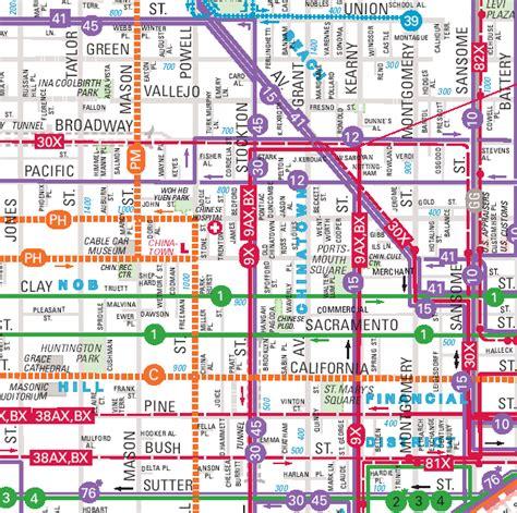 san francisco map of chinatown chinatown map san francisco ca