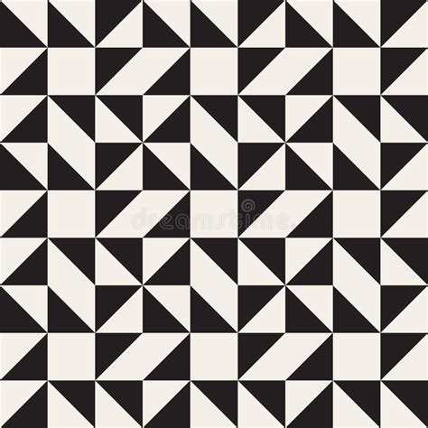 svg pattern tessellation vector seamless black and white geometric square triangle