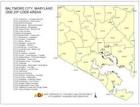 Baltimore City Zip Code Map 2000 zip code maps