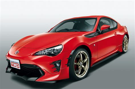 Toyota Gt86 Upgrades Trd Releases Parts For 2017 Toyota Gt 86 In Japan