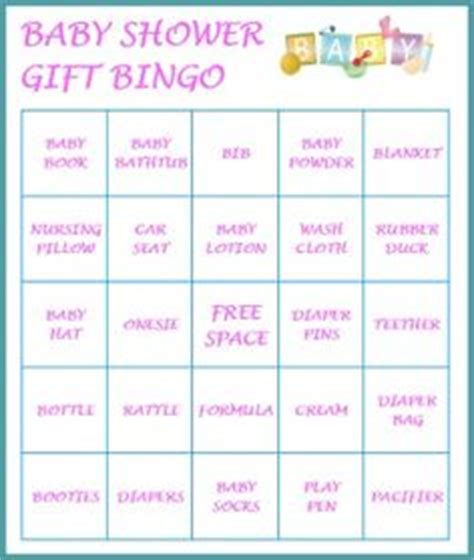 Free Baby Gift Cards To Print - stuff to buy on pinterest baby shower bingo baby shower gifts and bingo cards