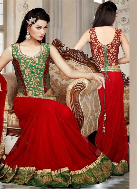 indian bridal wedding lehenga choli style sarees designs of sarees indian fashion bridal wear lehenga choli collection 2015