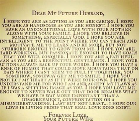 dear future husband dear future husband the man god chose for the hero in