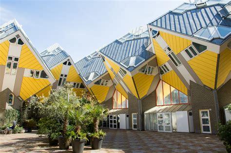 Home Design 60 X 40 kubuswoningen in rotterdam van ron poot op canvas behang