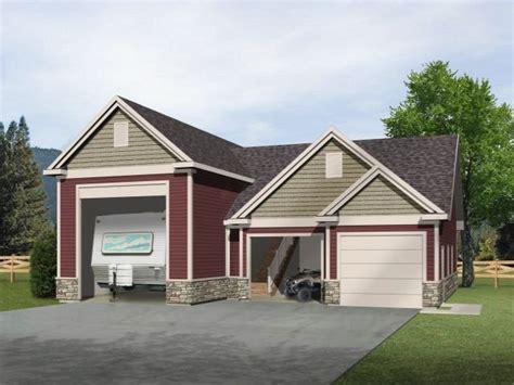 trailer garage detached garage plans with boat storage woodworking