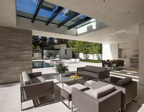 Backyard Guest Room Mcclean Designs Creates Custom Magnificent Modern Mansion