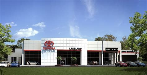 Lakeland Toyota Service Department Crest Completes Automotive Furnishings For Lakeland Toyota