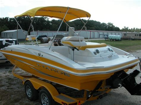 yellow tahoe boats tahoe 195 2010 for sale for 18 000 boats from usa