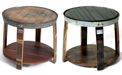 Bourbon Barrel Chairs Intriguing Furniture Pieces Made Out Of Whiskey Barrels