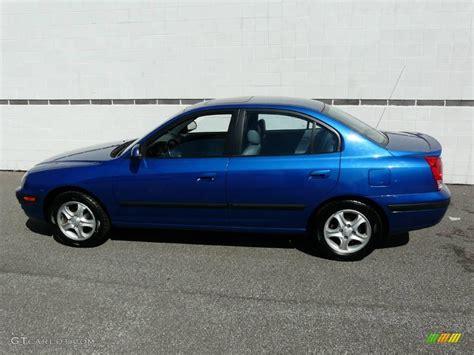 2004 Hyundai Elantra Gt by 2004 Tidal Wave Blue Hyundai Elantra Gt Sedan 7436980