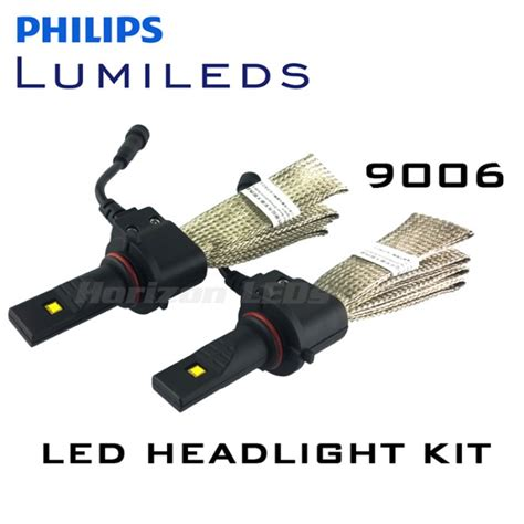 hb4 le hb4 9006 philips lumileds luxeon headlight led kit 2500
