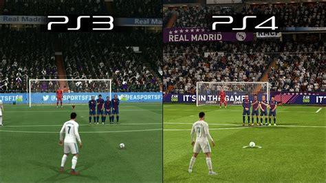nhl 15 vs nhl 14 intro graphic comparison next gen youtube fifa 18 ps3 vs ps4 graphics gameplay comparison doovi