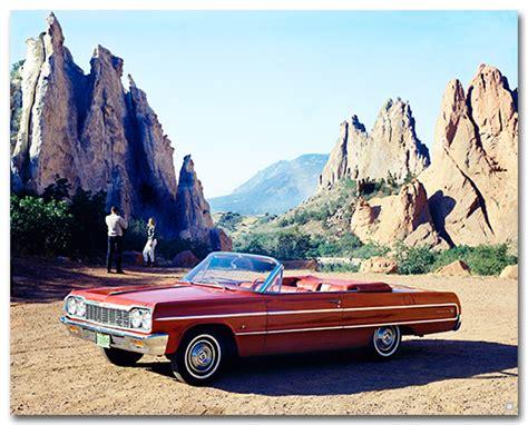 poster impala chevrolet impala 1964 convertible poster chevymall
