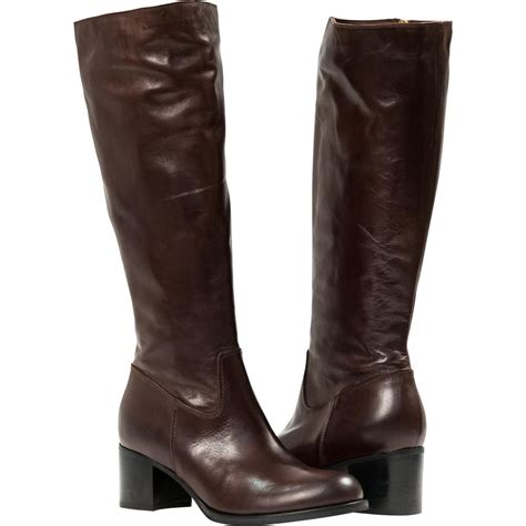 brown quot moro quot nappa leather classic knee high
