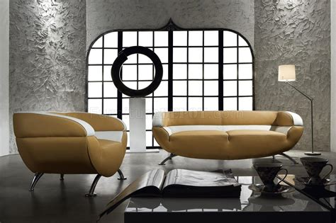 Zacharie 3pc Living Room Set Vintage Look Two Tone Leather 3 Living Room Set Miss 60 Light
