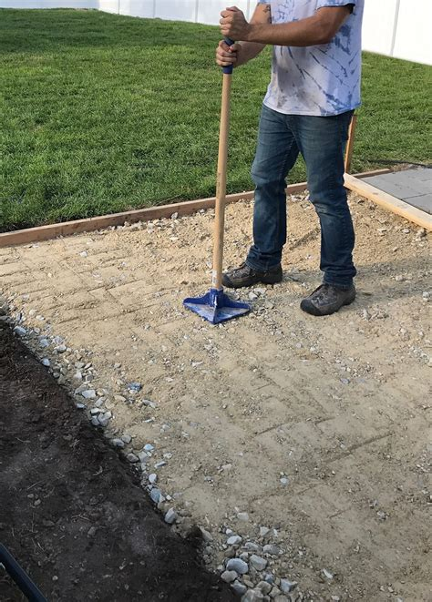 diy laying patio pavers resurfacing patios is a with azek