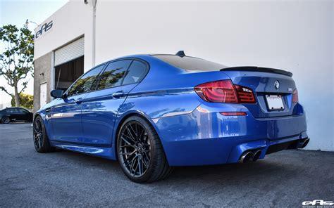 Bmw M5 Blue monte carlo blue bmw f10 m5 vorsteiner v ff 107 wheels