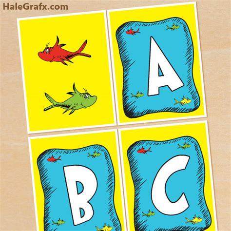 free printable baseball alphabet banner pack free printable dr seuss fish alphabet banner pack